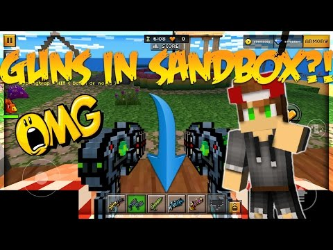PIXEL GUN 3D HOW TO GET GUNS IN SANDBOX MODE! (100% WORKS!)