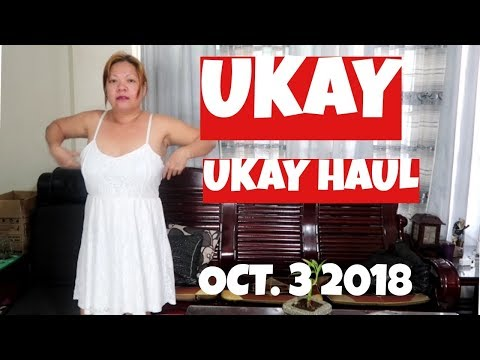 UKAY UKAY HAUL OCTOBER 3 2018