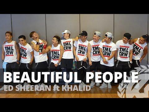 BEAUTIFUL PEOPLE By Ed Sheeran Ft Khalid | Zumba | Pop | TML Crew Kramer Pastrana
