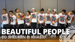 Gambar cover BEAUTIFUL PEOPLE by Ed Sheeran ft Khalid | Zumba | Pop | TML Crew Kramer Pastrana