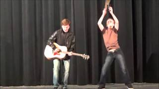 """""""More Cowbell"""" at Sycamore Junior High Variety Show 2016"""