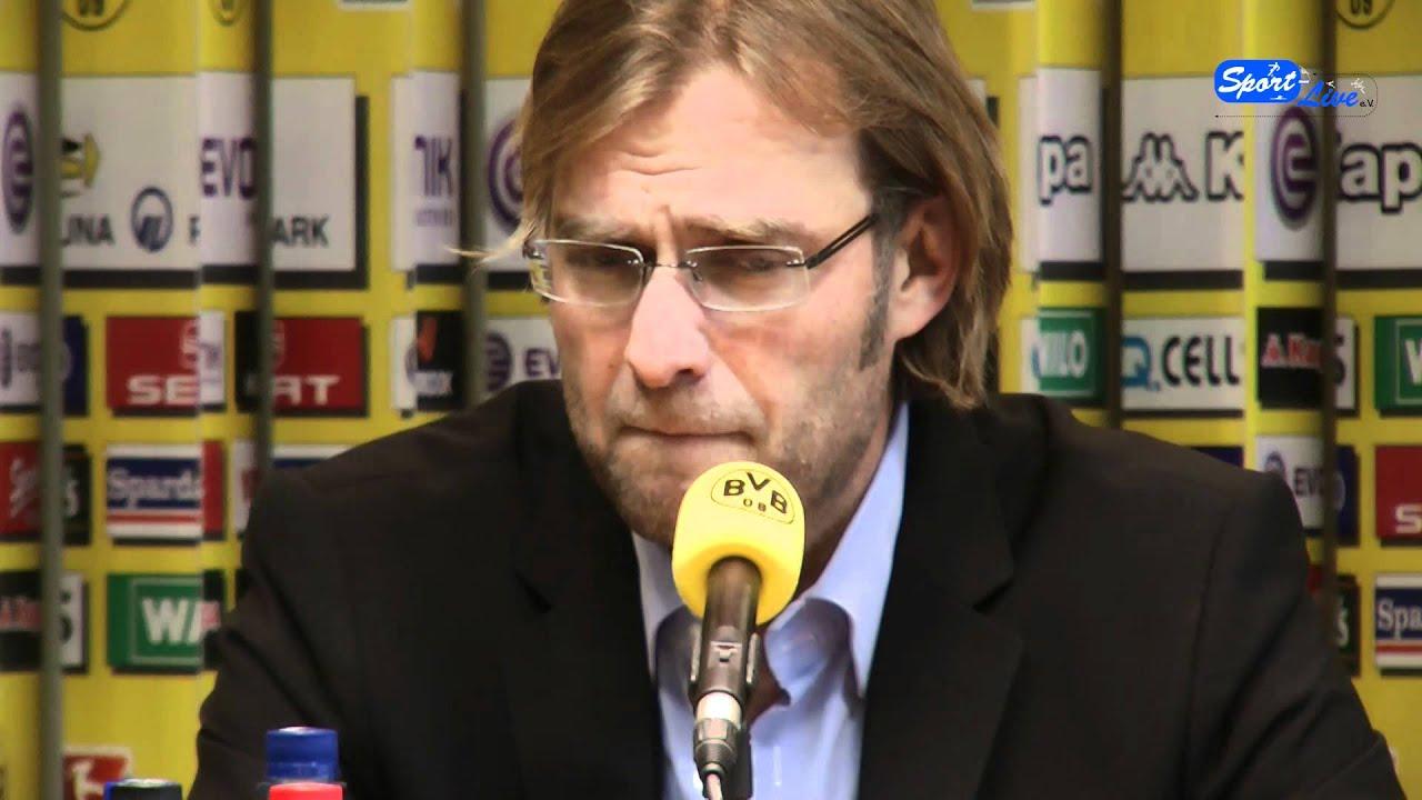 Pressekonferenz Borussia Dortmund zum Bundesligaspitzenspiel in Mönchengladbach (Teil 1)