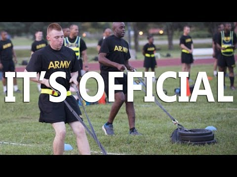 ACFT The  New Army PT Test