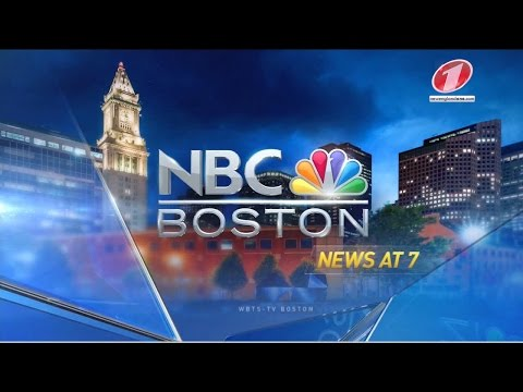 WBTS NBC Boston News at 7pm - First Newscast - HD