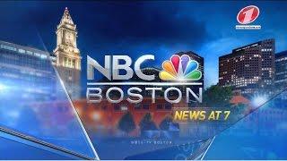 WBTS NBC Boston News at 7pm - First Newscast - HD