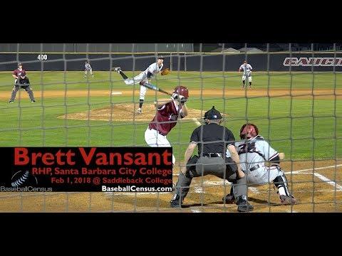 Brett Vansant, RHP, Santa Barbara City College