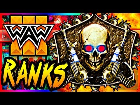 "WaW Zombie RANKING SYSTEM?!"" ~ CoD World at War Custom Modded Zombies Realism Mod Gameplay!"