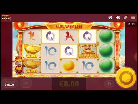 GOD of WEALTH Win 15.000 € Max Bet Mobile Slot Games