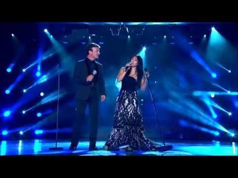 Anggun ft  Tony Carreira   La Neige Au Sahara at World Music Awards 2014