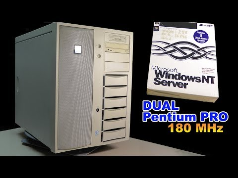 DELL PowerEdge 4100 2x Pentium PRO 180 MHz review - RETRO Hardware