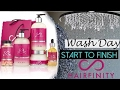 Wow 😳 One brand Natural Hair Washday with Hairfinity | Shlinda1