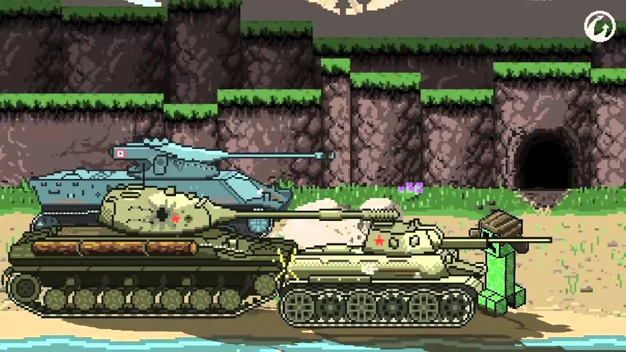 Самый смешной мультик про игру World Of Tanks #2 (Крипер в ...