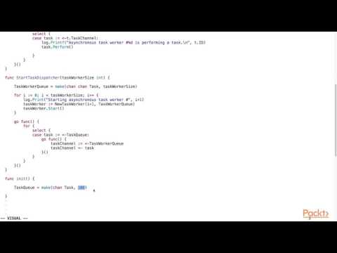 Back-End Web Development using Go : Asynchronous Task Queue | packtpub.com