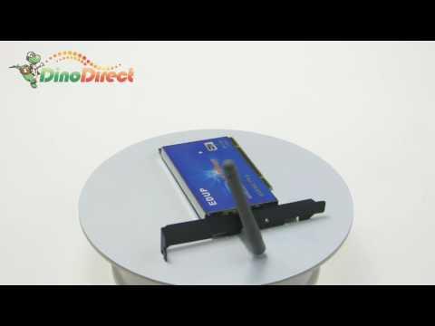 54M Wireless 802.11g PCI Network LAN Card Adapter