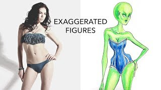 3 Ways to Exaggerate Figures (For Halloween & Beyond)