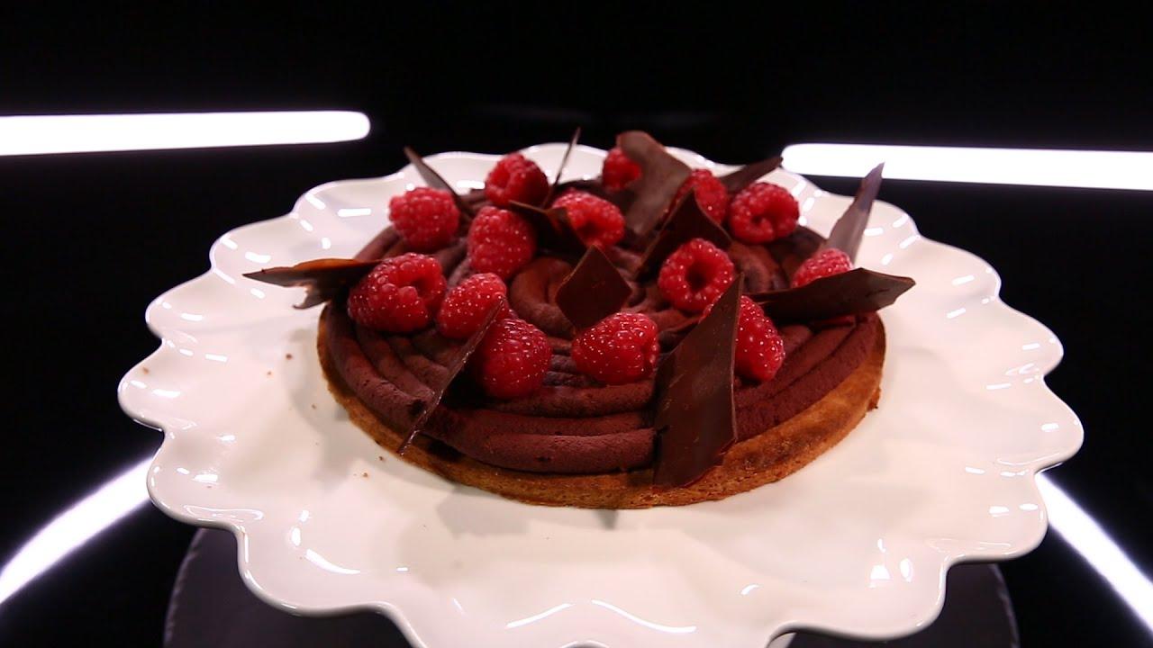 Gateau chocolat framboise herme