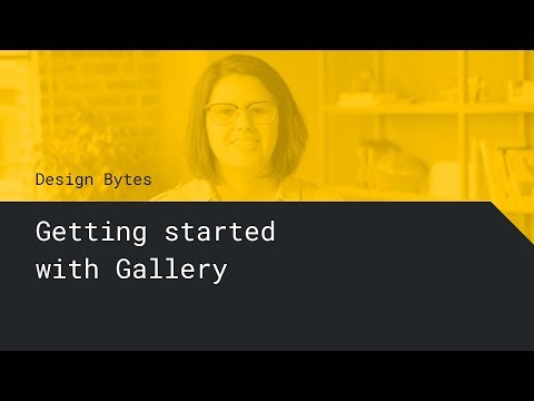 Getting Started with Gallery