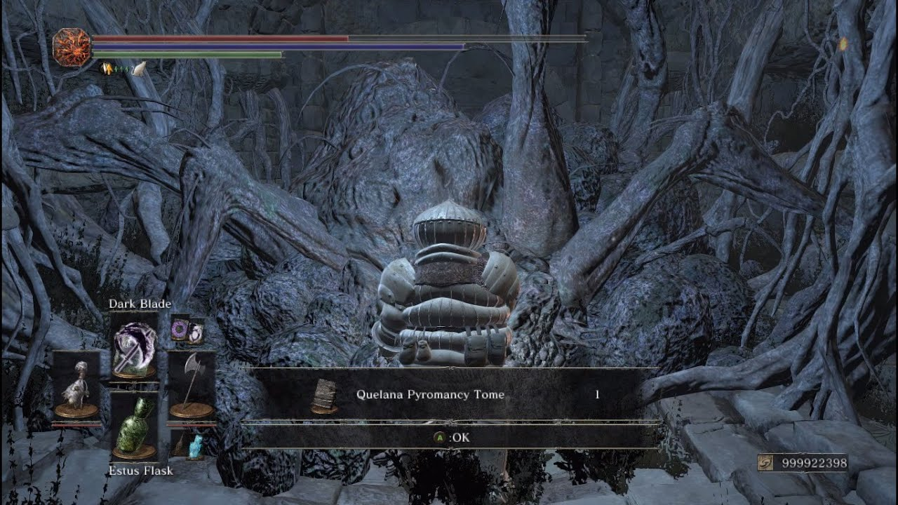 Dark Souls 3 - Quelana Pyromancy Tome Location