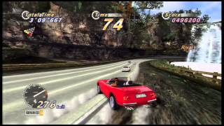 Out Run Online Arcade - PS3 Gameplay