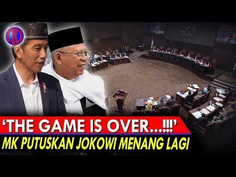 'The Game Is Over'! MK Putuskan Jokowi Menang Lagi!