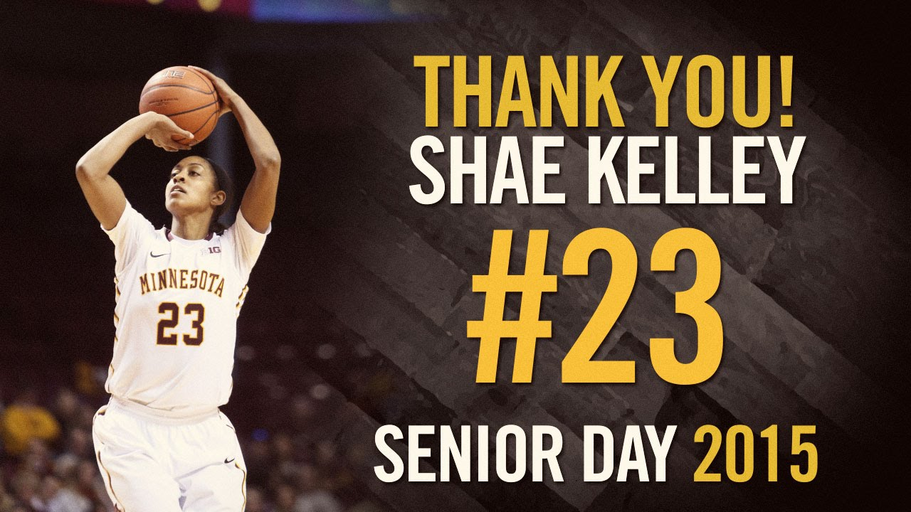 Shae Kelley Shae Kelley Senior Day Memories YouTube