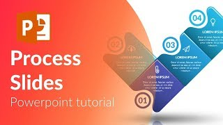 Animated process slides in Powerpoint.  Powerpoint tricks