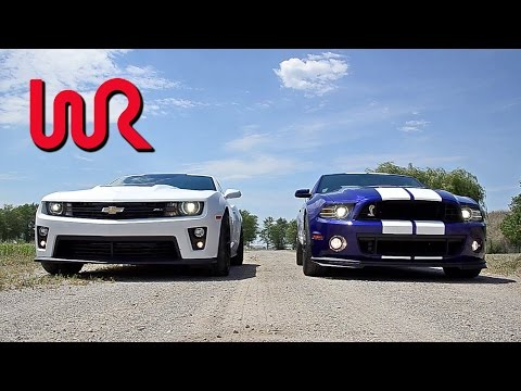 2013 Chevrolet Camaro ZL1 & 2013 Ford Shelby GT500 Mustang  - WINDING ROAD POV Test Drive