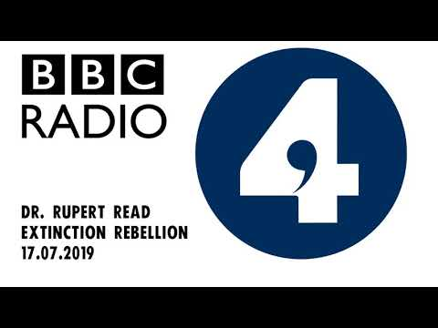 Dr. Rupert Read | BBC Radio 4 Today | Extinction Rebellion
