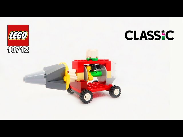 LEGO Classic 10712 Turning Drill Building Instructions