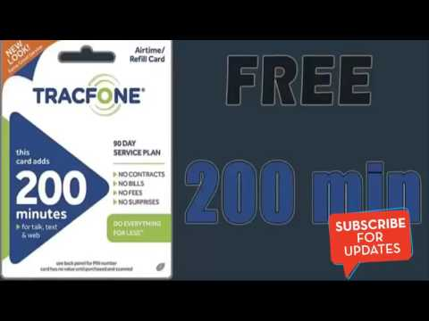Free Tracfone Promo Codes - Hurry up NOT MANY LEFT!