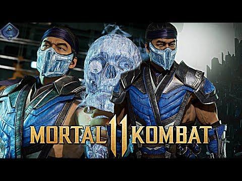 Mortal Kombat 11 Online - AWESOME HIGH DAMAGE SUB-ZERO COMBOS!
