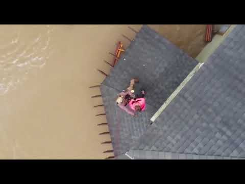 CBP Air and Marine Operations rescues stranded residents