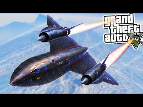 GTA 5 Mods: FASTEST PLANE IN THE WORLD! ✈️💥 (GTA 5 Mods Gameplay)