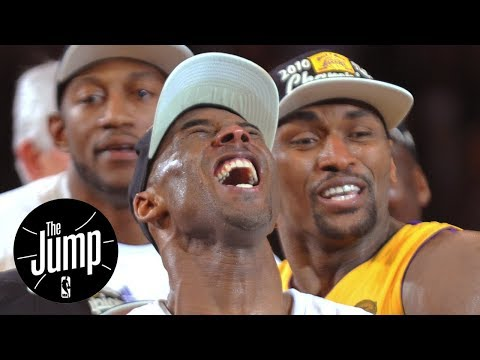 Lakers will retire both Kobe Bryant's No. 8 and No. 24 jerseys - The Jump - ESPN - 동영상