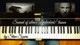 DISTURBED The Sound of Silence +Lesson