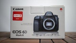 بدايتك في عالم الفل فريم Canon EOS 6D mark II Unboxing