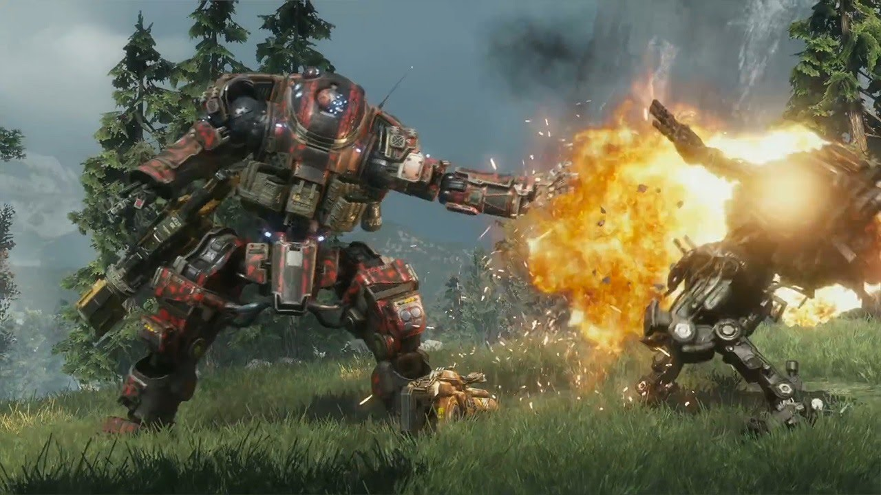 Epic Titan Fall Wallpaper Titanfall 2 6 Minutes Of Scorch Titan Gameplay Youtube