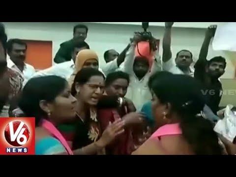 Corporators Ruckus In Ramagundam Municipal Corporation | V6 News
