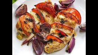 Chicken breast with mozzarella and tomatoes recipe  Gustomondo