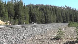 Chasing UP 844 over Donner Pass 9-27-12