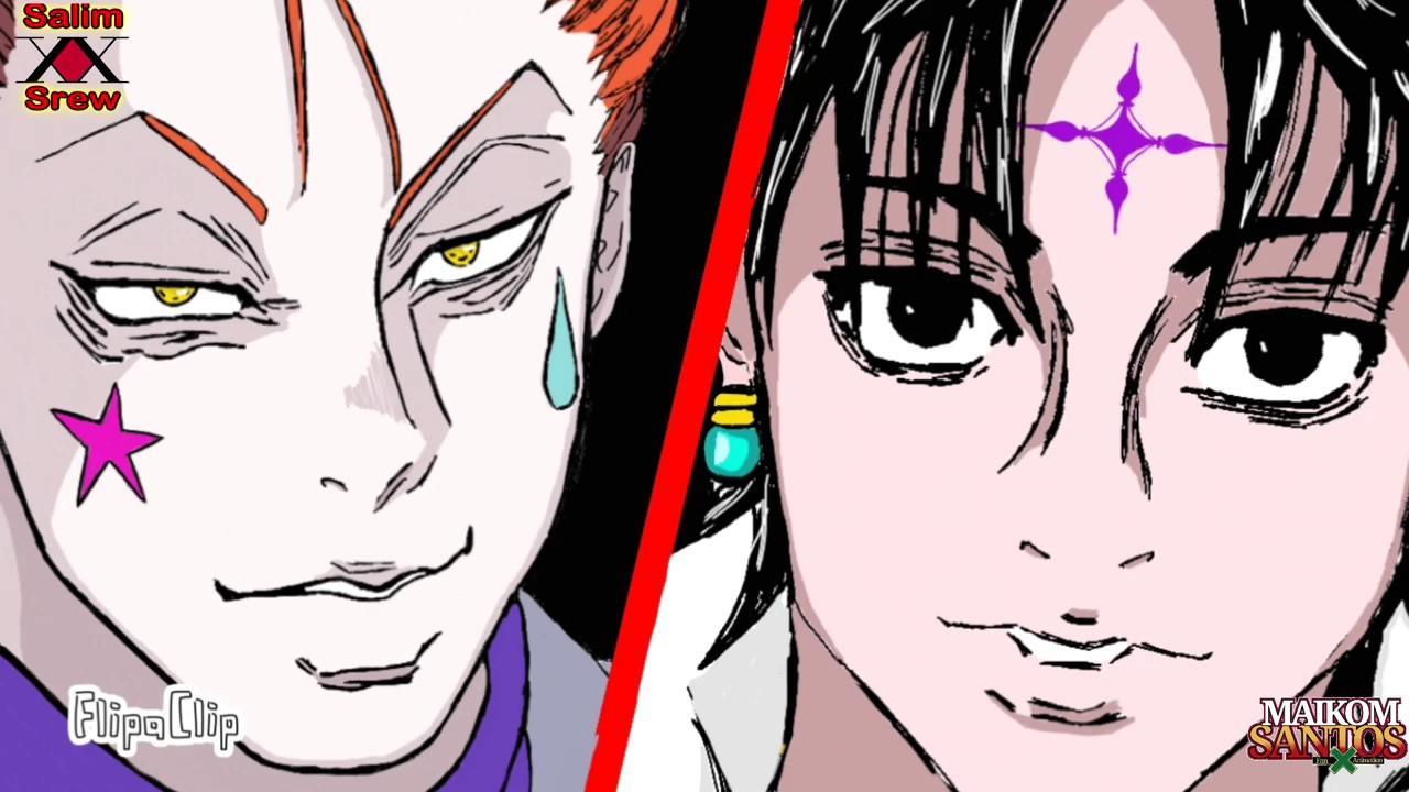 Chrollo Vs Hisoka Animation
