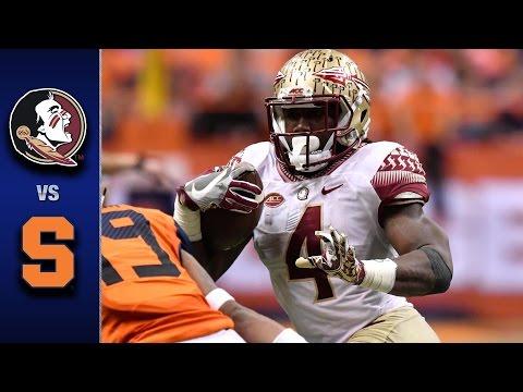 Florida State vs. Syracuse Football Highlights (2016)