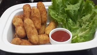 Potato Croquettes in urdu & hindi | Tea time snacks | FFC