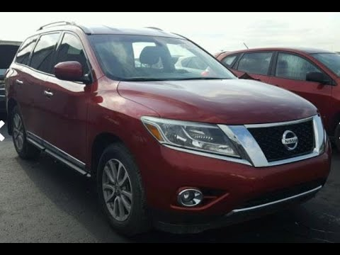 2014 Nissan Pathfinder at Copart, Tulsa. Auction on Friday, October 5th!