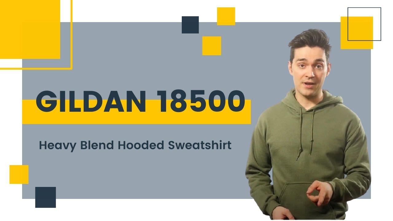89f0411ebd0 Gildan 18500 Heavy Blend Hooded Sweatshirt