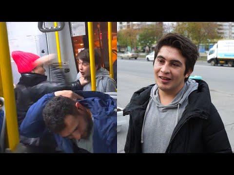 Кондуктор Сулейман рассказал о драке с плюющейся пассажиркой