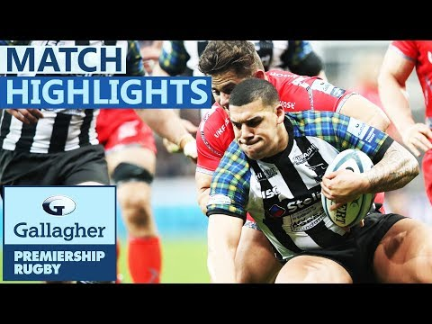 Newcastle  22-17 Sale | Falcons Give Themselves Lifeline! | Gallagher Premiership - Highlights