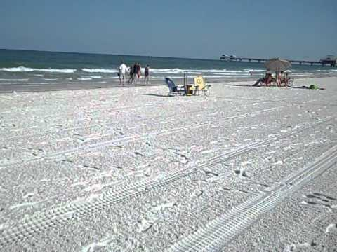 Clear Water Beach At Tampa Florida Rus