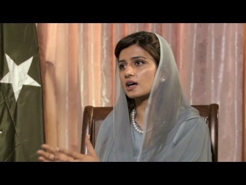 Pakistan FM Hina Rabbani Khar on peace with Afghanistan