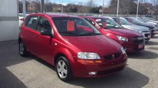 2006 Pontiac Wave Flame Red Roy Nichols Motors Courtice ON
